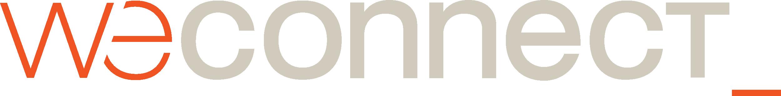 logo weconnect blanco